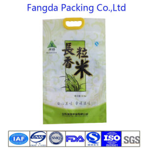 Beautiful Design Plastic Handling Rice Bag