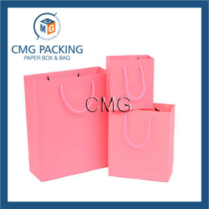 Decorative Shopping Paper Bag with Handle (DM-GPBB-098) pictures & photos