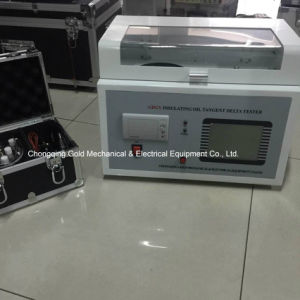 Capacitance & Resistivity Insulating Oil Tangent Delta Tester pictures & photos