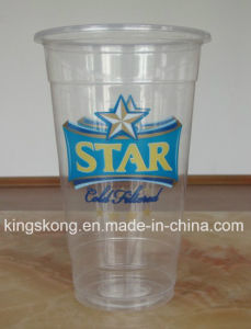 20oz Disposable Custom Printed Pet Cup Plastic Cup pictures & photos
