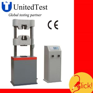 WES-B Series Digital Display Hydraulic Universal Testing Machine pictures & photos