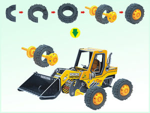 Friction Car Toys DIY 3D Puzzle Intelligent Toys (H4551129) pictures & photos