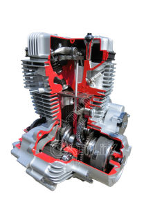 Cg200-Ntt Powerful Motorcycle Engine pictures & photos