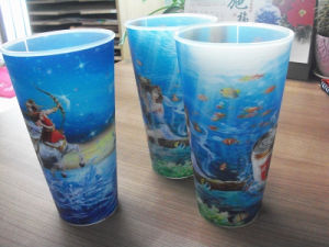 Best Price 3D Lenticular Cup pictures & photos