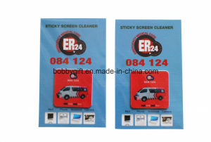 Wholesale Silicone Microfiber Mobile Phone Cleaner Sticker pictures & photos