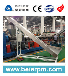PP PE Flake Pelletizing Line-Spaghetti Cutting pictures & photos