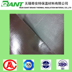 Aluminum Foil Coated Fiberglass Fabric Plain Satin Twill Weave pictures & photos