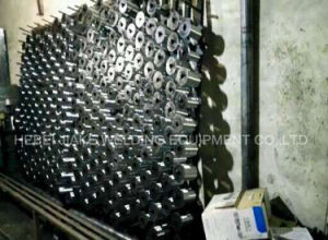 Factory Price Straight Reverse Hexagonal Wire Netting Mesh Machine pictures & photos