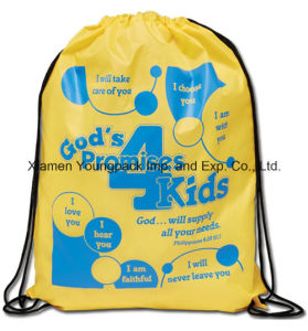 Promotional Custom Large Waterproof Ripstop Nylon Draw PP String Bag pictures & photos