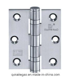 """Stainless Steel Door Hinge for Wooden Door (3""""X2""""X2.0mm-2BB) pictures & photos"""