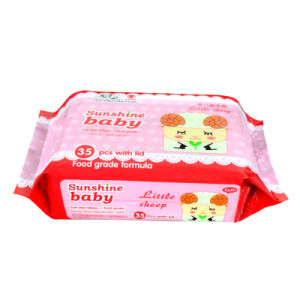35PCS Mini Packed Baby Wipes with Siker or Plastic Lid pictures & photos