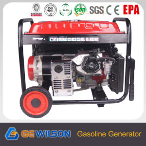 6.5kw Key Start Home Use Portable Gasoline Generator pictures & photos