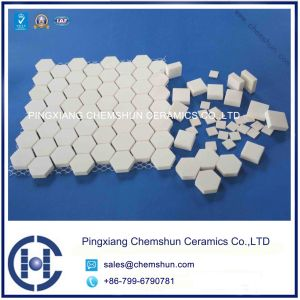 Corrosive Wear Ceramic Hex Tile From Manufacturer Supplier pictures & photos