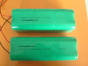 14.4V SC size 10000mAh Ni-mh battery pack pictures & photos