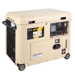 6.0kw Simple Operating Diesel Generator Set pictures & photos