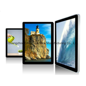 19.5inch Lift Entrance LCD Advertising Display pictures & photos