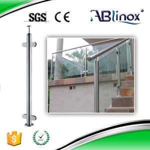 Frameless Glass Railing with Nice Surface pictures & photos