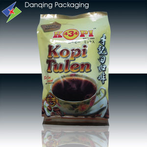 Coffee Bag with Valve Plastic Packaging Bag Side Gusset Bag pictures & photos