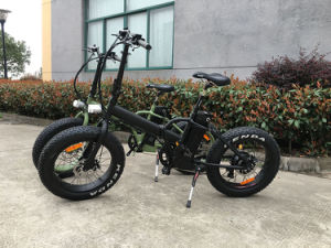 Kaiyi 20′fat Tire 48V500W Bafang Folding Electric Bike