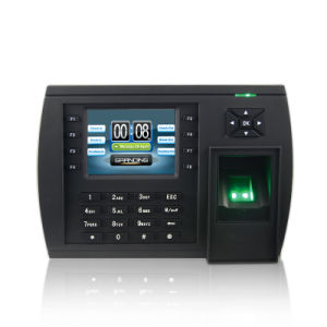 Wireless Fingerprint Clocking in Machine Support Show Staff Photos (TFT500) pictures & photos