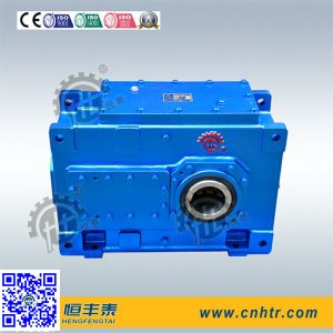 Hh Helical Bevel Gearbox for Metal Plastic Rubber Tyre PP Pipe Waste Scrap Shredders