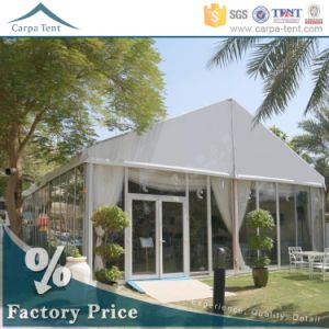 White 15X30m Luxury Party Wedding Tent with Glass Wall in Guangzhou pictures & photos