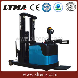 Ltma Forklift 1.2t Electric Reach Pallet Stacker pictures & photos