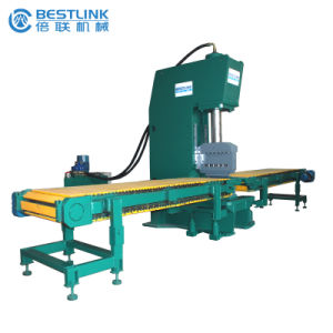 C Frame Open Type Hydraulic Stone Splitting Machine with Floating Chisel Blades pictures & photos