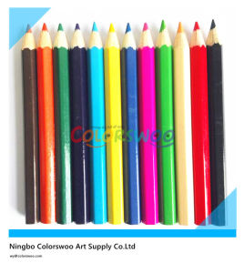 3.5′′ Hot Sale 12 Color Pencil Common Round Sharp pictures & photos