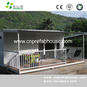 Modern House Steel Frame Prefabricated House for Office pictures & photos