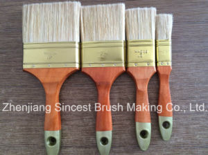 Paint Brush with Chinese Parasol Wooden Handle pictures & photos
