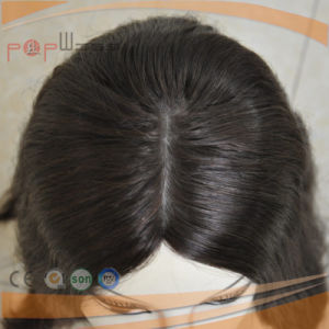 Factory Design Top Selling Hand Tied Human Hair Women Wig pictures & photos