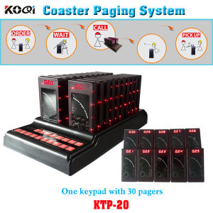 Guest Paging System Restaurant Coaster Pagers Kfc, Cafe House pictures & photos
