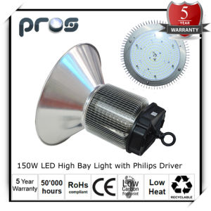 150W LED High Bay, LED Industrial Light with Philips Driver pictures & photos
