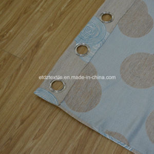 Sky Blue Typical Linen Touching Curtain pictures & photos