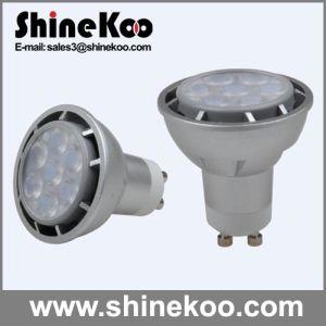 Aluminium GU10 7W LED Spotlight (SUN10-GU10-7W-G) pictures & photos
