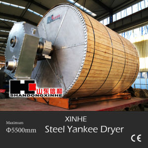 Most Safety Steel Yankee Dryer Made by Shandong Xinhe