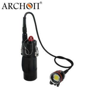 Max 20, 000 Lm Waterproof 100m Canister Diving LED Flashlight pictures & photos