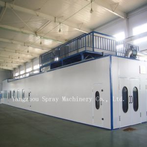 High Quality Machinery Painting Room, Spray Booth for Large Machinery