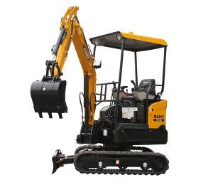 Sany Sy16c 1.75 Ton Tree Planting Hole Digger Mini Crawler Excavator pictures & photos