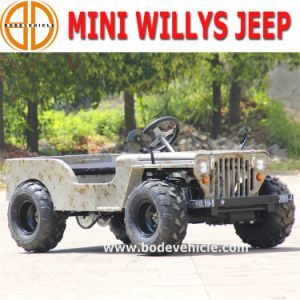 Bode Quanlity Assured New Kids 150cc Willys Mini Jeep for Sale Detail pictures & photos
