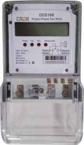 Single Phase Anti-Tamper Electricity Energy Meter pictures & photos