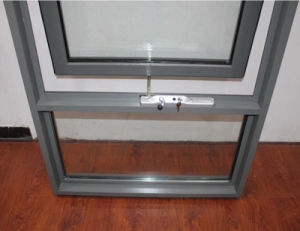 Double Glazing Australia Style Aluminum Awning Window with Screen (TS-1043) pictures & photos
