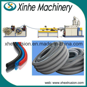 High Quality PE/PVC Single-Wall Corrugated Pipe Making Machine