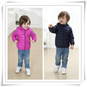 Kid Down Jacket Boy Padded Jacket Children High Quality Colorful Jacket Coat 605 pictures & photos