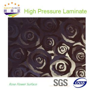 Rose Flower Decorative HPL Sheet/HPL Board pictures & photos