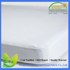 Skirted Cotton Terry Waterproof Fitted Sheet 100% Cotton pictures & photos