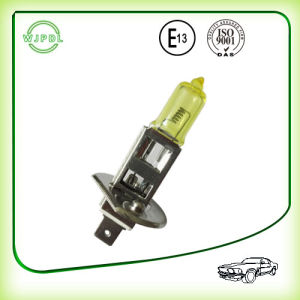 Headlight H1 12V Yellow Halogen Auto Lamp pictures & photos