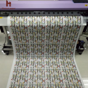 45GSM, 64′′ Width, 300m Lenght, Low Weight Sublimation Transfer Paper Roll for Textile and Fashion Garment pictures & photos