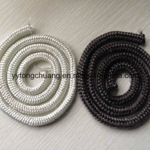"7/8"" Black Graphite Fiberglass Rope Gasket Stove Door Seal pictures & photos"